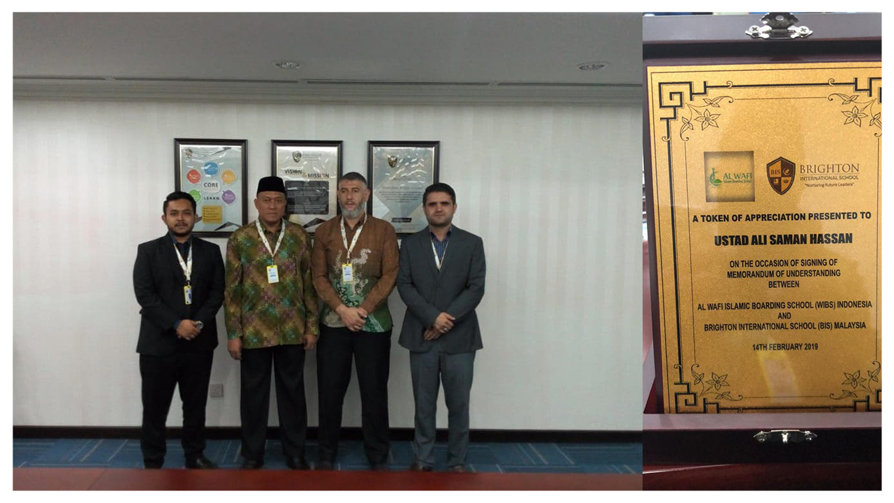 Pesantren Al Wafi Berkunjung ke Brighton International School Malaysia